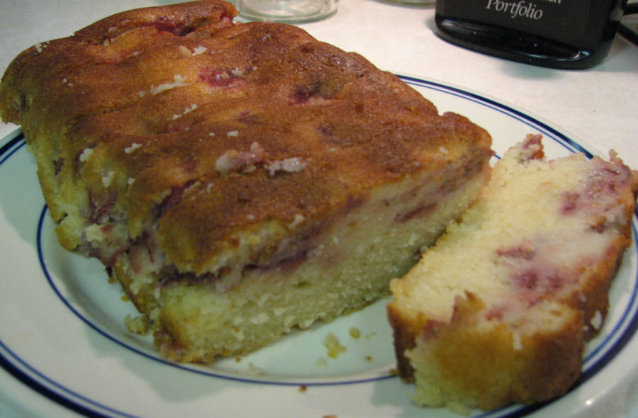 Strawberry Yogurt Loaf