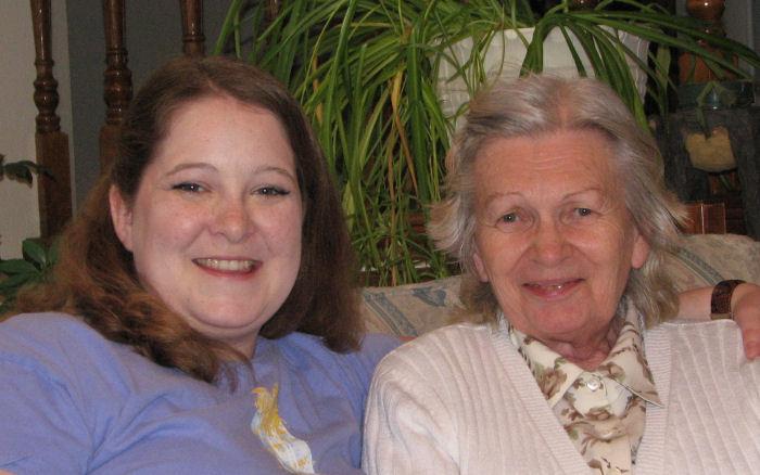 Myself and my Grandmother