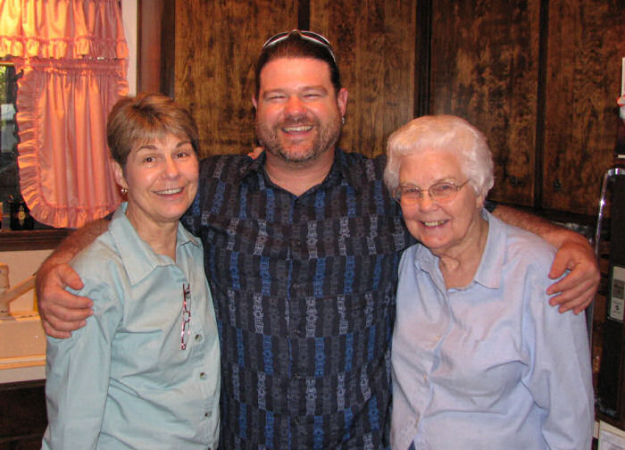 Three Generations (Kay, her son Larry III, and her mom Freda)