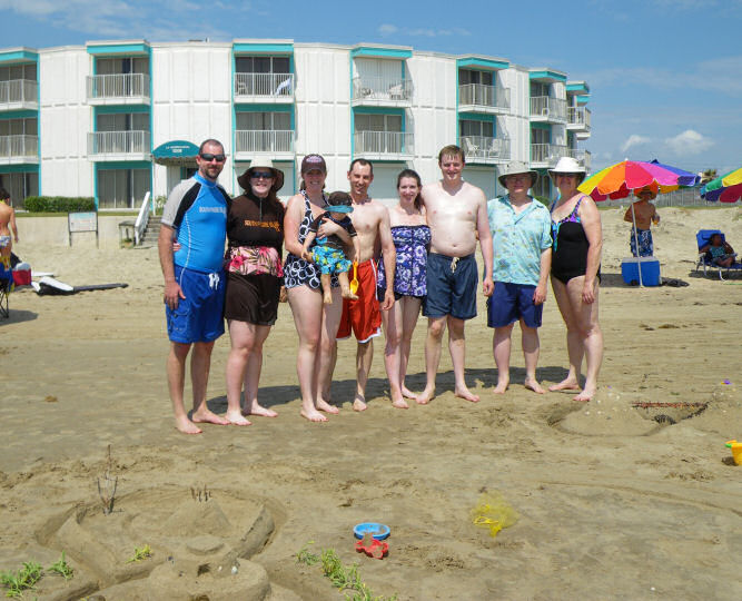 Group Photo on the Beach