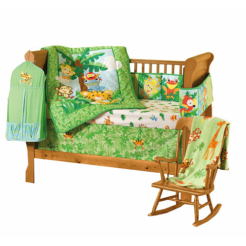 Fisher Price Rainforest Bedding