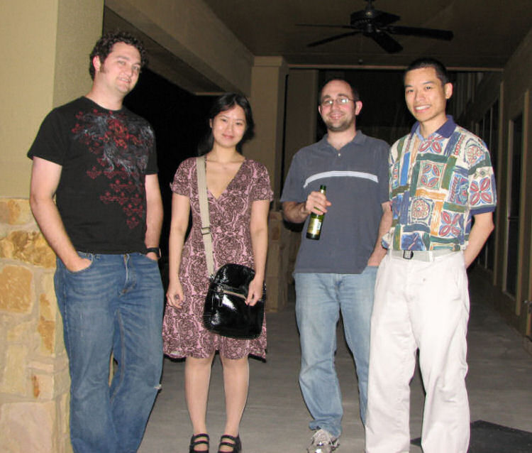 Justin, Mona, Ken and Eric