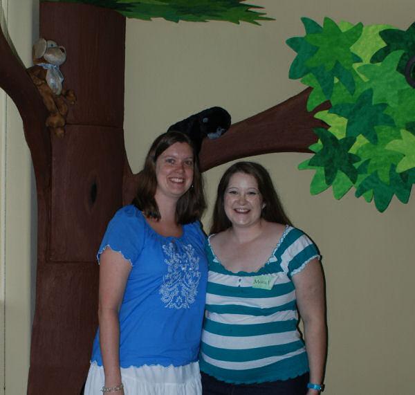Kristy and Jennifer