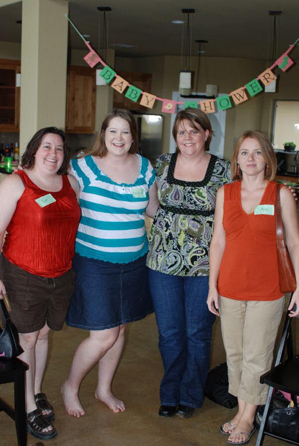 Lori, Jennifer, Heather, and Amy