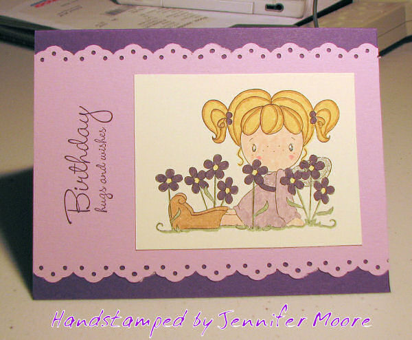 Birthday Hugs and Wishes Card