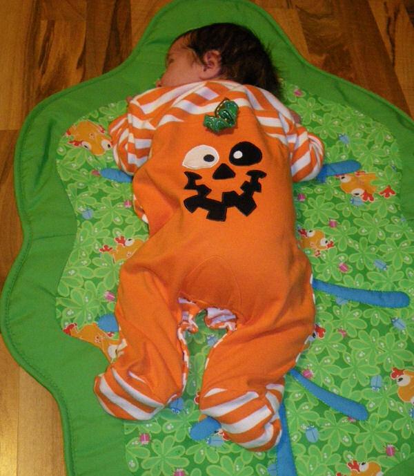 Pumpkin Tummy Time