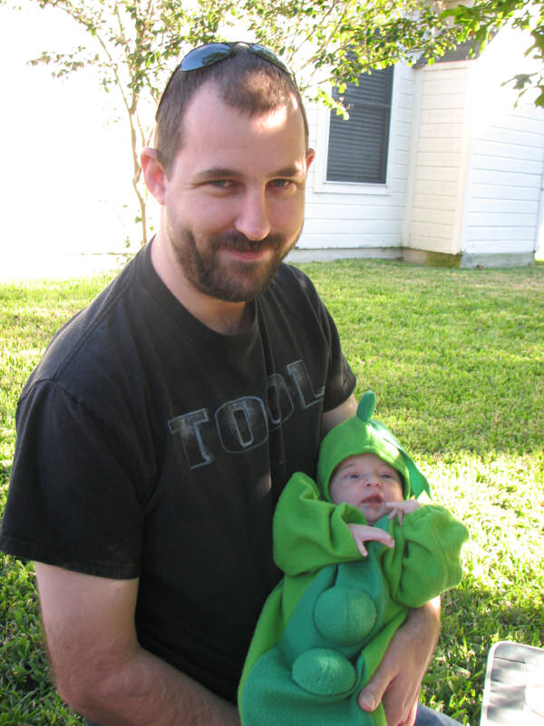James and Sweet Pea