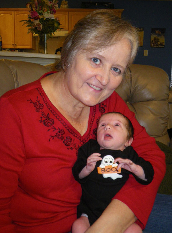 Nanny and her Ghostie