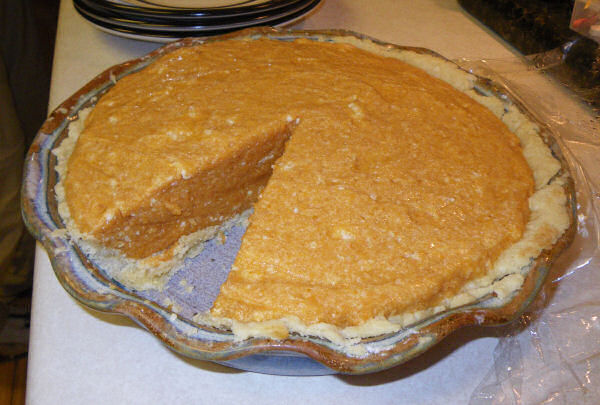 Dad's Legendary Pumpkin Chiffon Pie Recipe — Dishmaps