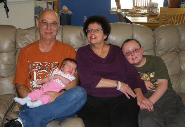 Granpa, Jessica, Nana, and Dawson