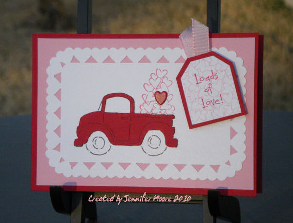 Stampin Up Valentine Day Cards