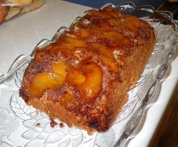 ... with to bake a banana bread peach bread i decided to do a peach bread