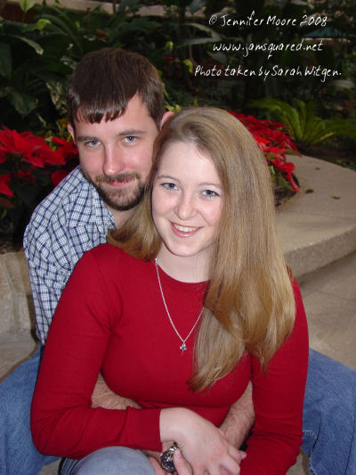 Engagement Photo Dec. 2003